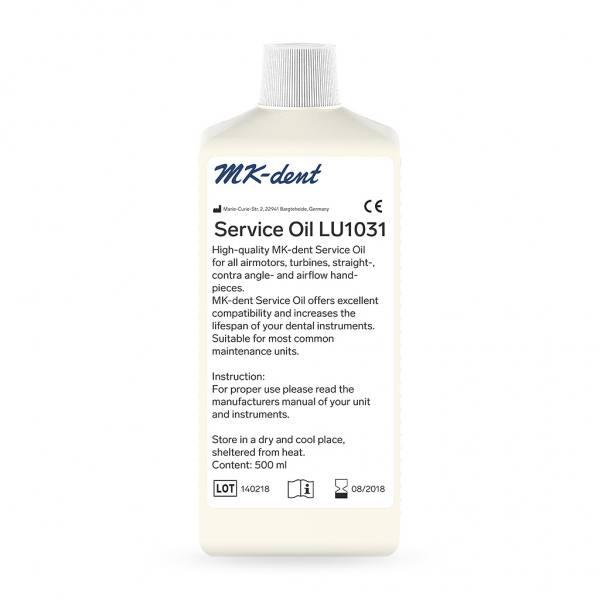 MK-dent Service Öl für W&H ® Assistina 500 ml