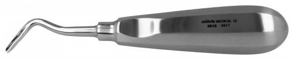 Wurzelheber mit Daumenkehle, gebogen rechts 3,5mm