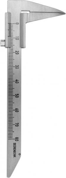 215-32 Schieblehre Beerendonk. 125 mm / 0 - 80 mm