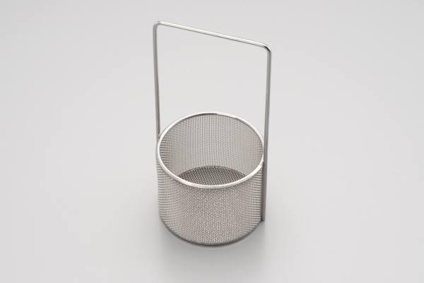 Tauchkorp aus Edelstahl Ø 78 mm h= 60 mm