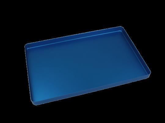 Aluminium Norm-Tray, Boden ungelocht