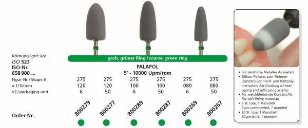 Spezial-Polierer PALAPOL - für sämtliche Metalle, für weichbleibende Kunststoffe, zum Finieren von Heiß- und Kaltpolymersisaten.