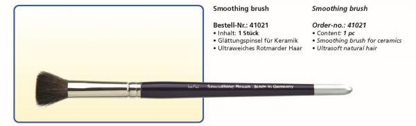 Keramikpinsel Smoothing brush - Ultraweiches Rotmarder Haar - Glättungspinsel für Keramik