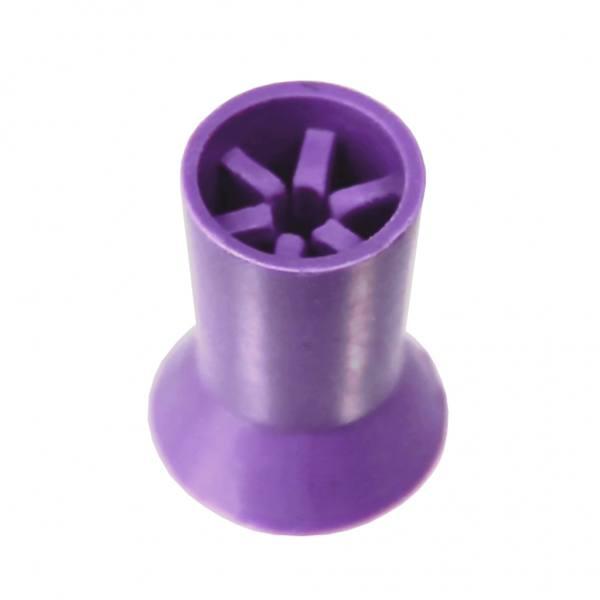 Gummipolierer 6 Lamellen, Medium