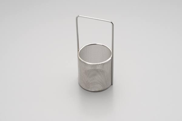 Tauchkorp aus Edelstahl Ø 59 mm h= 60 mm