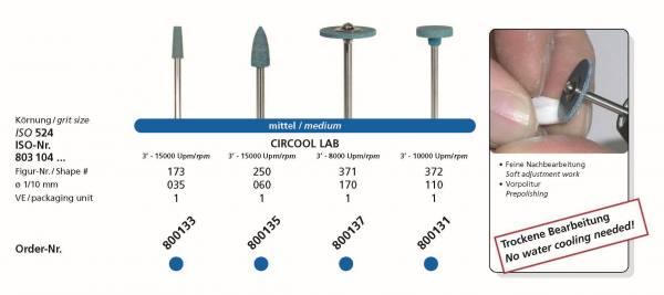 Zirkonbearbeitung CIRCOOL LAB . medium - speziell für die trockene, grobe Zirkonbearbeitung