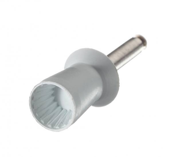 Gummipolierer 0 Lamellen gerippt, Standard