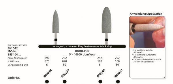 Spezial-Polierer DURO-POL - für sämtliche Metalle und Kunststoffe, für weichbleibende Kunststoffe