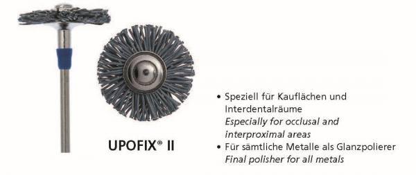 Universalpolierer UPOFIX II - speziell für Kauflächen und Interdentalräumen - Glanzpolierer