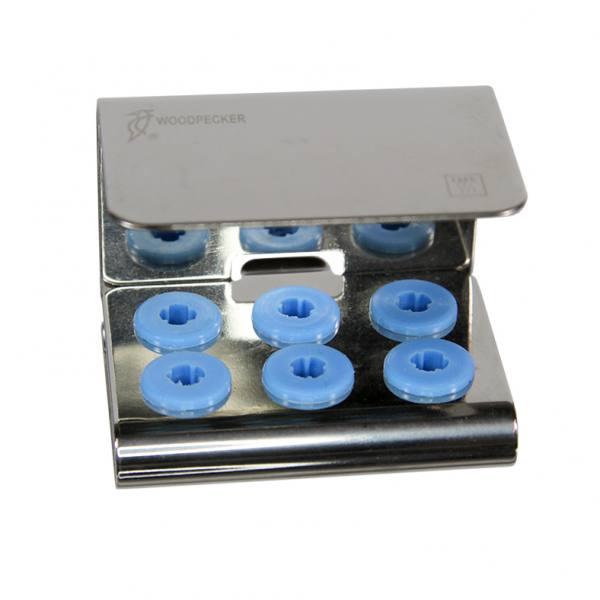 Tray für 6 Ultraschallspitzen oder Feilenhalter mit Deckel