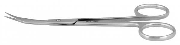 """Schere """"Goldman Fox Minicut"""" gebogen, 13,0cm"""