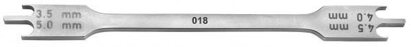 634-18 BRACKETPOSITIONIERER für 018 Slot Brackets