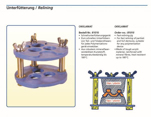 OKKLAMAT - Schnellunterfütterungsgerät