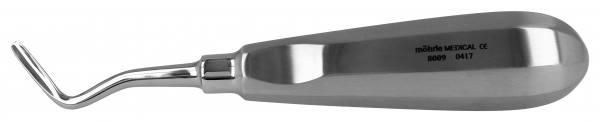 Wurzelheber mit Daumenkehle, gebogen links 3,5mm