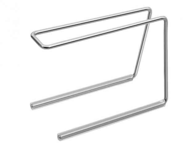 900-8 Zangenständer aus Edelstahl mit rutschfesten Silikonfüssen.