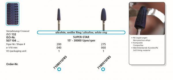Hartmetallfräse BlueStar SUPER-STAR - Einsatzgebiet: NE-Legierungen, Komposite,