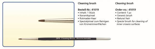 Keramikpinsel Cleaning brush - Rotmarder-Haar - Spezialpinsel zum Reinigen von Kroneninnenflächen