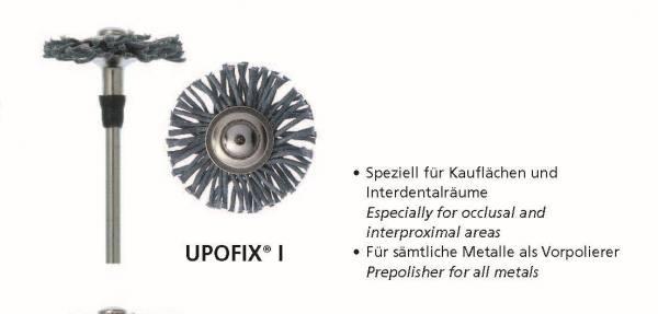Universalpolierer UPOFIX I - speziell für Kauflächen und Interdentalräumen -