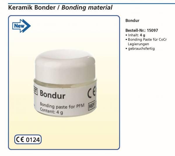 Keramik Bonder Bonding Paste für CoCr-Legierungen - gebrauchsfertig - Dose 4g