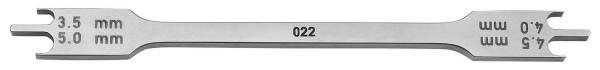 634-22 BRACKETPOSITIONIERER für 022 Slot Brackets