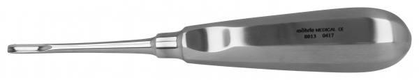 Wurzelheber mit Daumenkehle, gerade 4mm